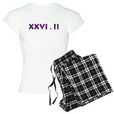 XXVI.2 Sans Serif Pajamas
