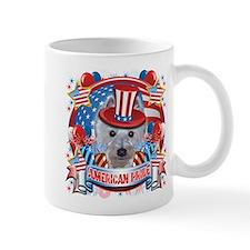 American Pride Westie Mug