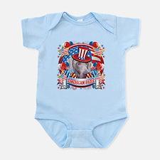 American Pride Weimer Infant Bodysuit
