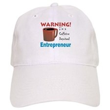 Caffeine Deprived Entrepreneur Baseball Cap