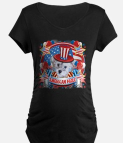 American Pride Schnoodle T-Shirt