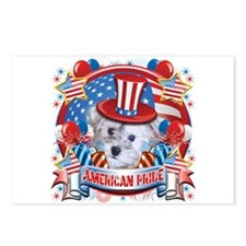 American Pride Schnoodle Postcards (Package of 8)