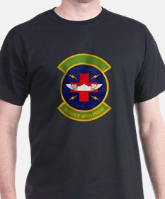 433d Aeromedical Evacuations Black T-Shirt