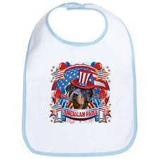 American Pride Rottweiler Bib