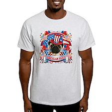 American Pride Pug T-Shirt