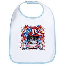 American Pride Pekingese Bib