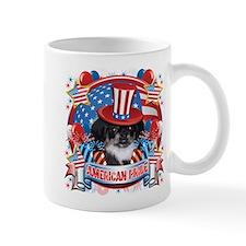 American Pride Pekingese Mug