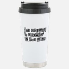 Blowin' in the Wind/Dylan Travel Mug