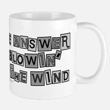 Blowin' in the Wind/Dylan Mug