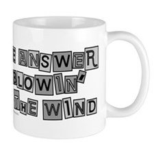 Blowin' in the Wind/Dylan Small Mug