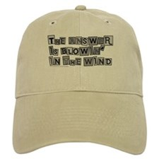 Blowin' in the Wind/Dylan Baseball Cap