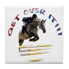 Get over It!!! Tile Coaster