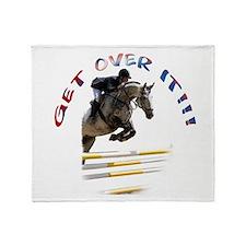 Get over It!!! Throw Blanket