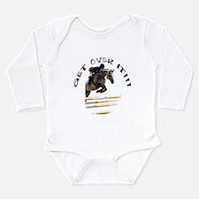 Get over It!!! Long Sleeve Infant Bodysuit