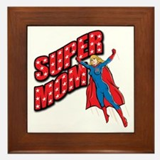 Super Mom Framed Tile