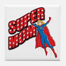 Super Mom Tile Coaster