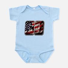 NHFlag1 Infant Bodysuit