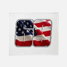 NHFlag2 Throw Blanket