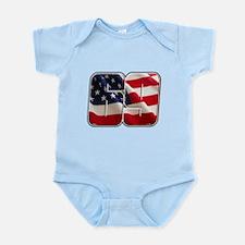 NHFlag2 Infant Bodysuit