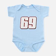NH69White Infant Bodysuit