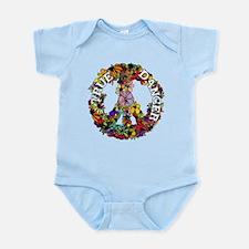 True Dancer Peace Symbol Infant Bodysuit