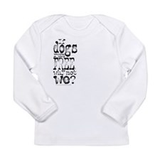 If Dogs Run Free/Dylan Long Sleeve Infant T-Shirt