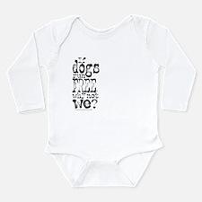 If Dogs Run Free/Dylan Long Sleeve Infant Bodysuit