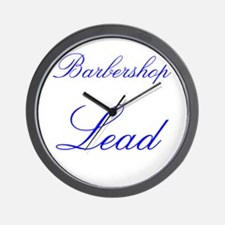 Barbershop Lead Wall Clock