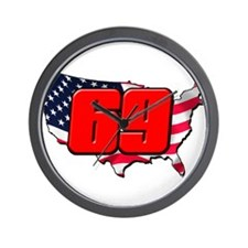 NH69America Wall Clock