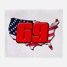 NH69America Throw Blanket