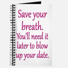 Blow up Date Journal