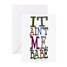 It Ain't Me Babe/Dylan Greeting Cards (Pk of 10)