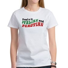 Italian and Peruvian Tee