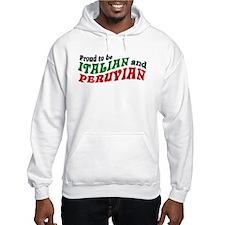 Italian and Peruvian Hoodie
