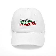 Italian and Peruvian Baseball Cap