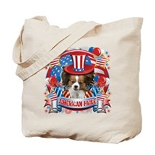 American Pride Papillon Tote Bag