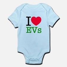 I Love EVs Infant Bodysuit