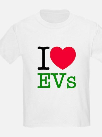 I Love EVs T-Shirt