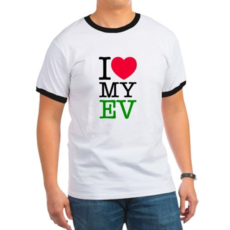 I Love My EV Ringer T