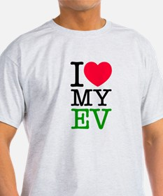 I Love My EV T-Shirt