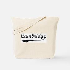 Vintage Cambridge Tote Bag