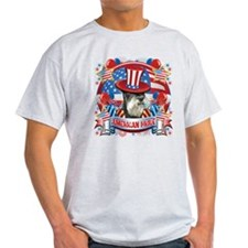 American Pride Miniature Schnauzer T-Shirt