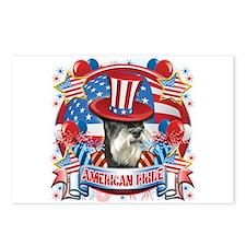American Pride Miniature Schnauzer Postcards (Pack