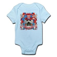 American Pride Maltese Infant Bodysuit