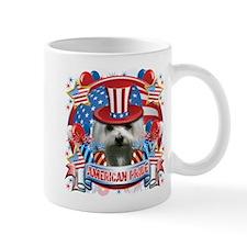 American Pride Maltese Mug
