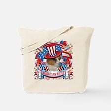 American Pride Jack Russell Tote Bag