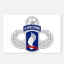 173rd Airborne Master Postcards (Package of 8)