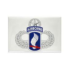 173rd Airborne Master Rectangle Magnet