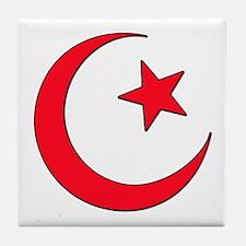 Cute Arab Tile Coaster