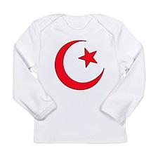 Crescent Moon Long Sleeve Infant T-Shirt